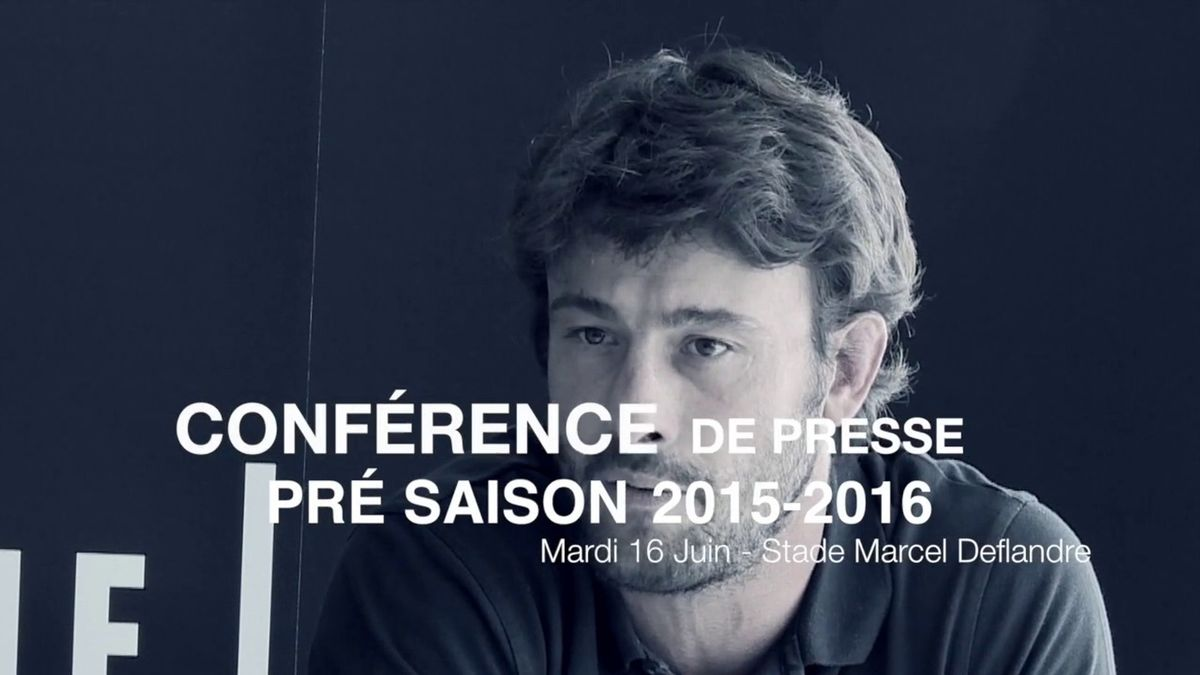 Flash Stade Rochelais - Conf de Presse de Pré Saison