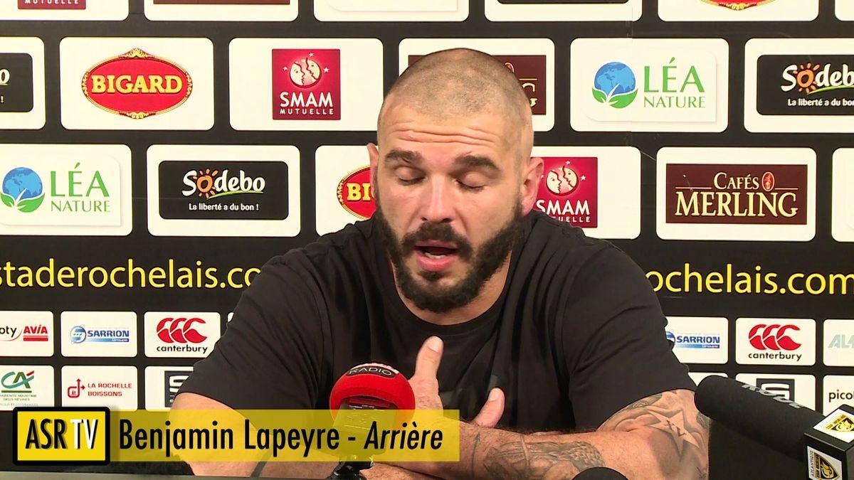 Flash ASR : Après match La Rochelle / Agen