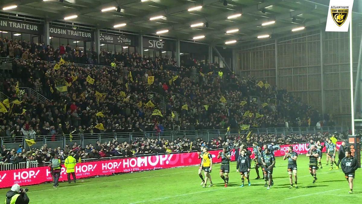 Après match Stade Rochelais / Stade Toulousain