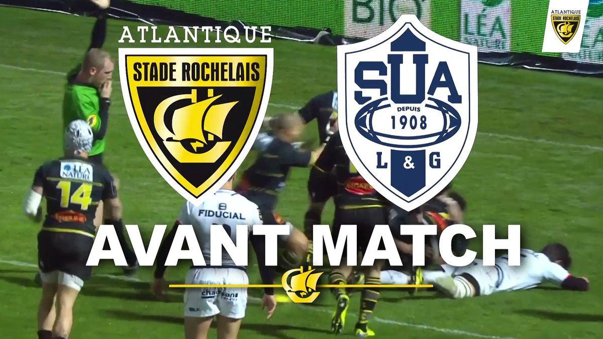Avant match Agen / La Rochelle