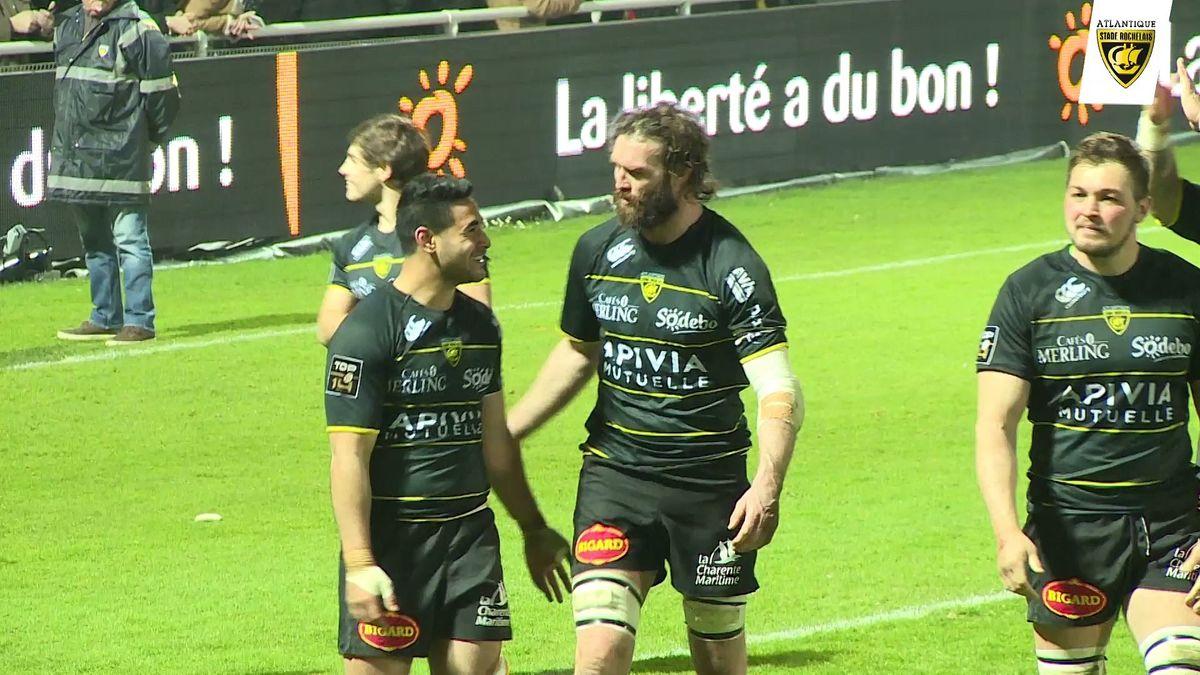 Après match La Rochelle - Pau