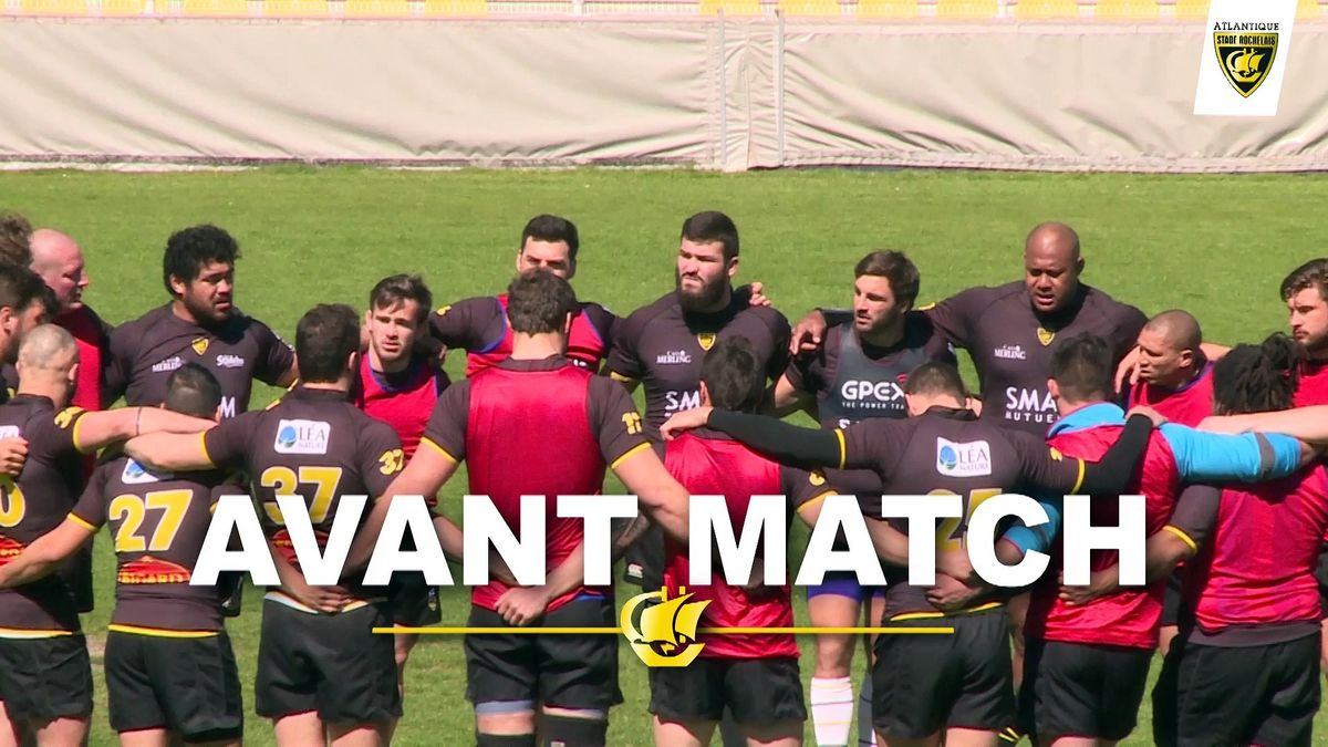 Avant match La Rochelle - Union Bordeaux Bègles