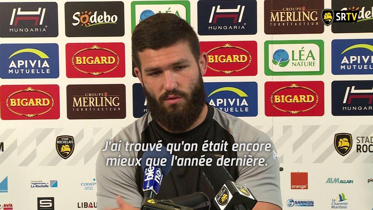 Le point presse Stade Rochelais / Brive