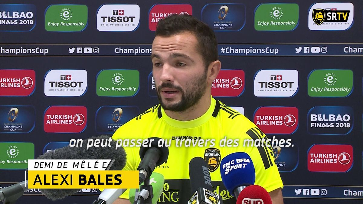 Stade Rochelais - Ulster : le Point Presse !