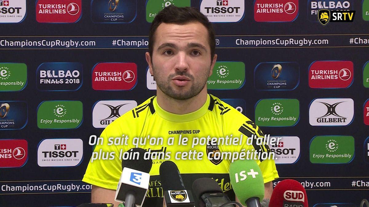 Stade Rochelais / Harlequins : le Point Presse
