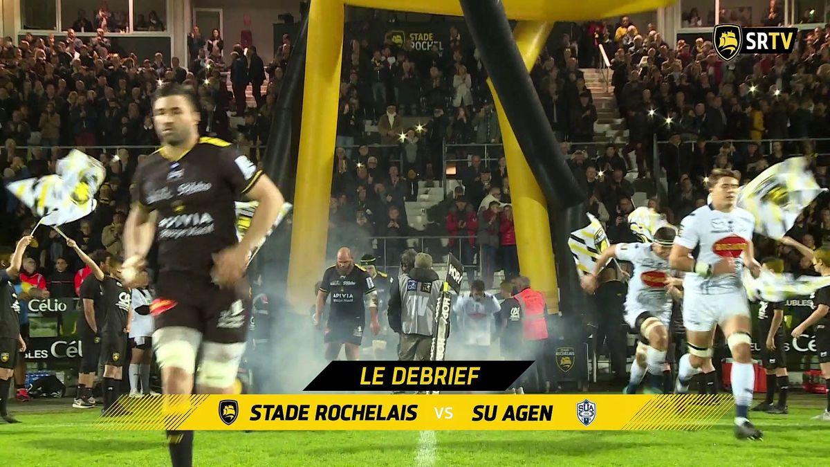 Stade Rochelais / Agen : le Debrief