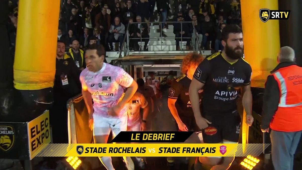 Stade Rochelais / Stade Français Paris : le Debrief