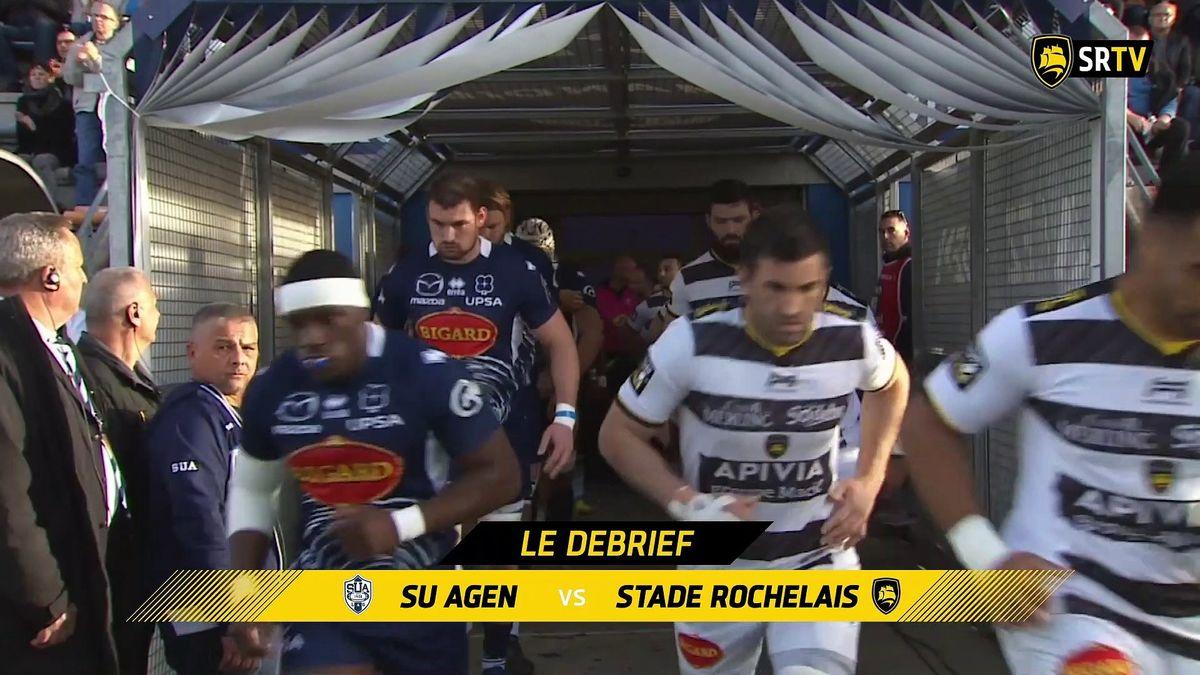 Agen/ Stade Rochelais : le Debrief