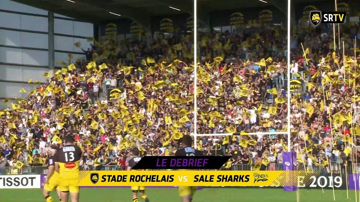 Stade Rochelais / Sharks : le Debrief
