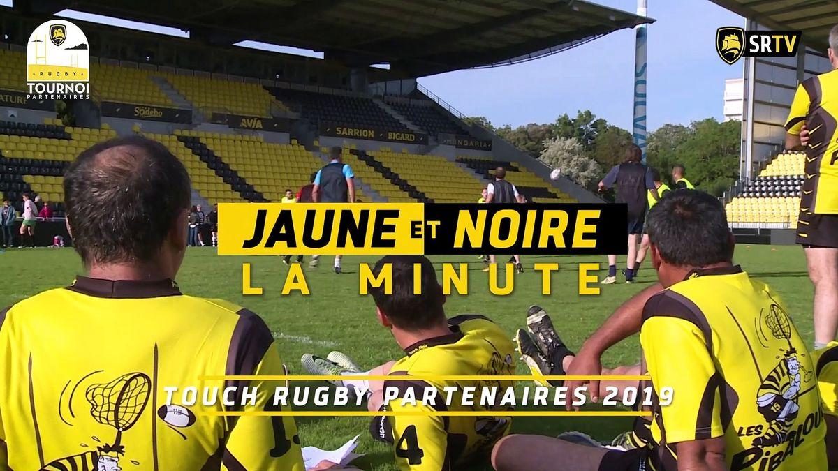 Minute Jaune et Noire - Touch Rugby Partenaires 2019