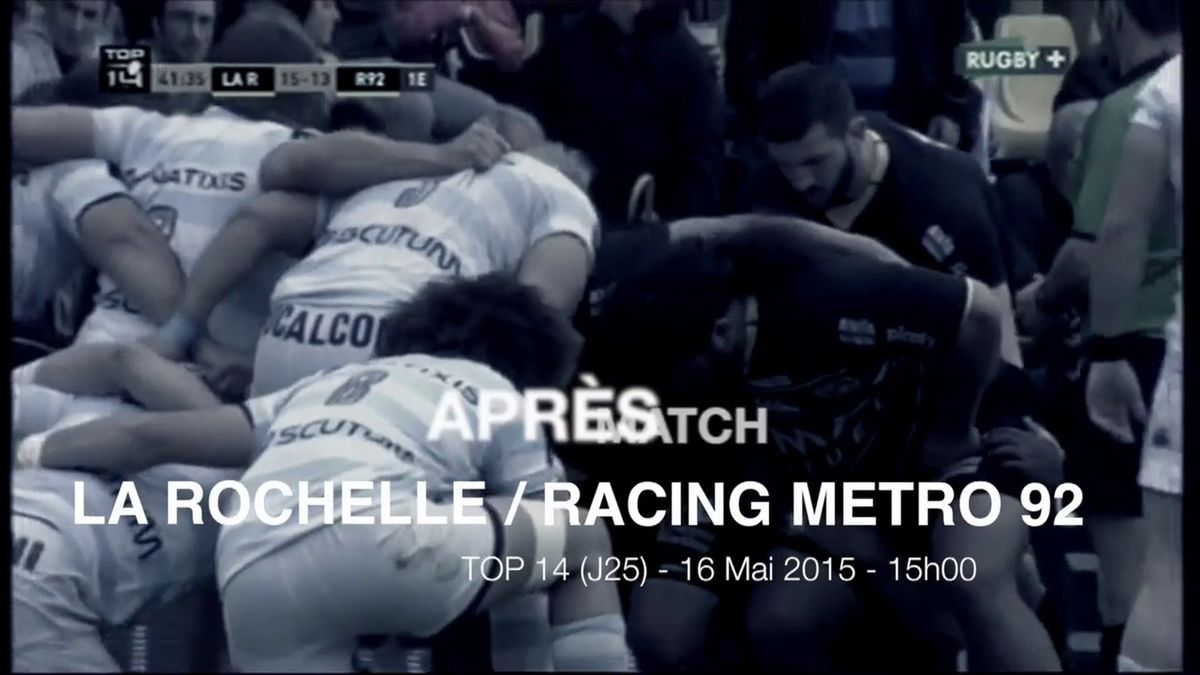 Flash Stade Rochelais : Après ASR/RM92