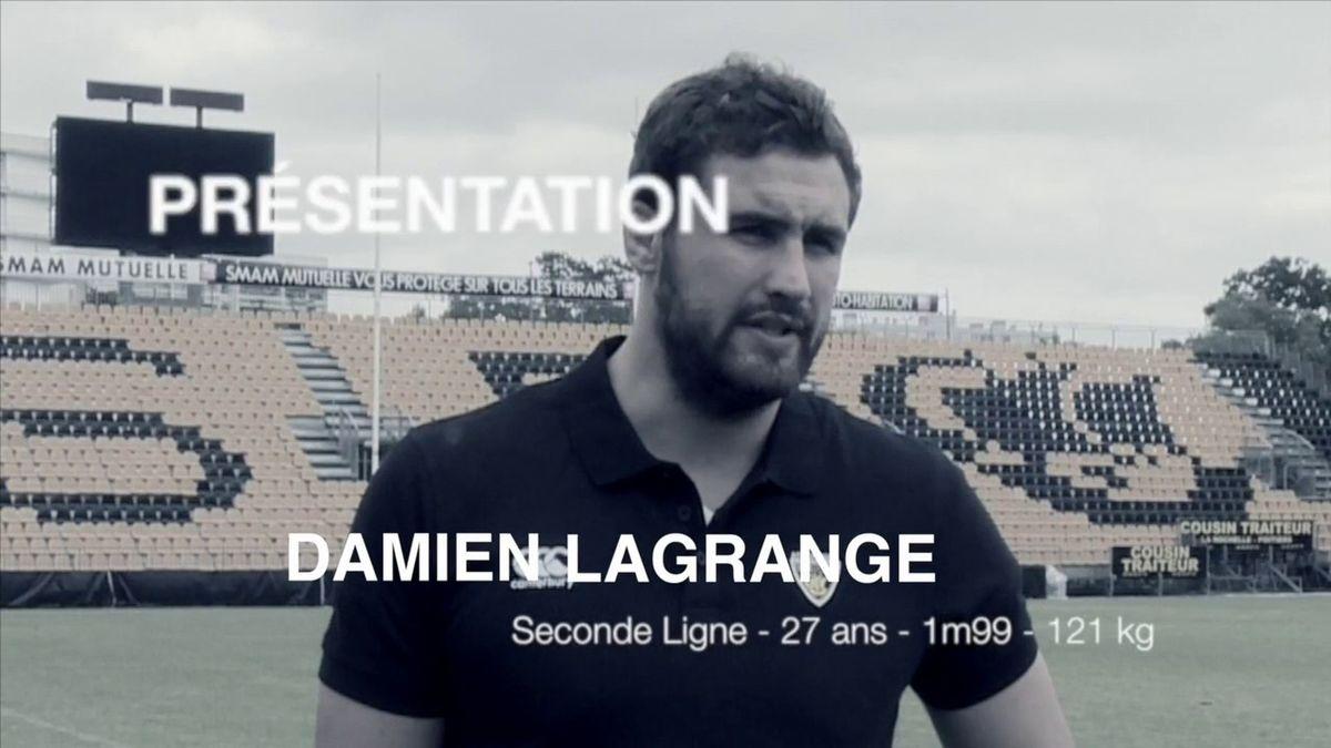 Damien Lagrange rejoint l'ASR !