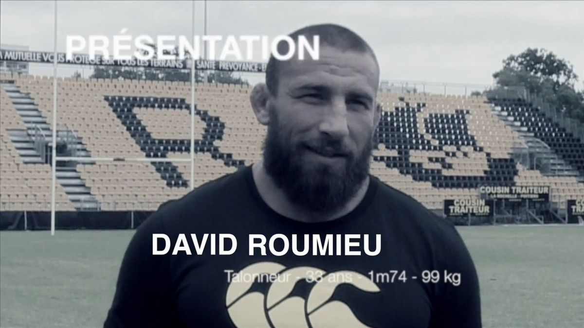 David Roumieu arrive à l'ASR
