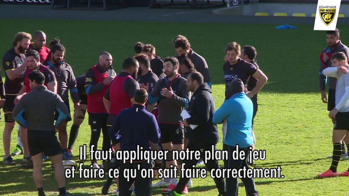 Avant match La Rochelle / Toulon