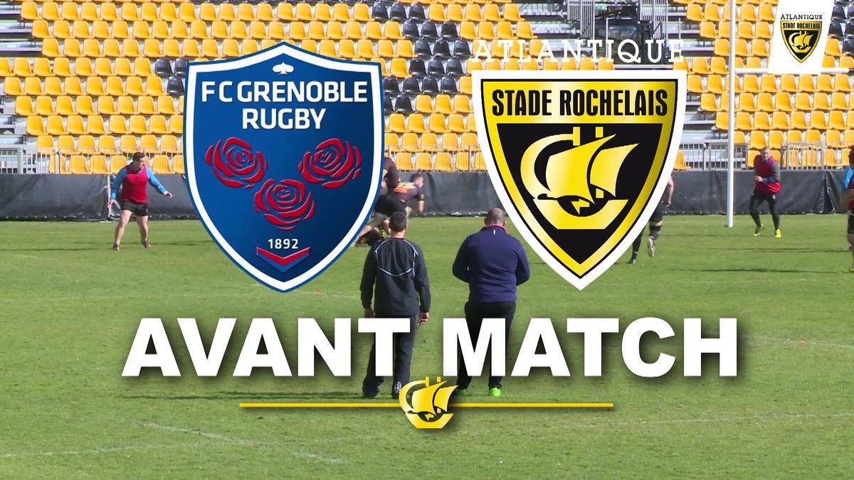 Avant Match Grenoble - La Rochelle