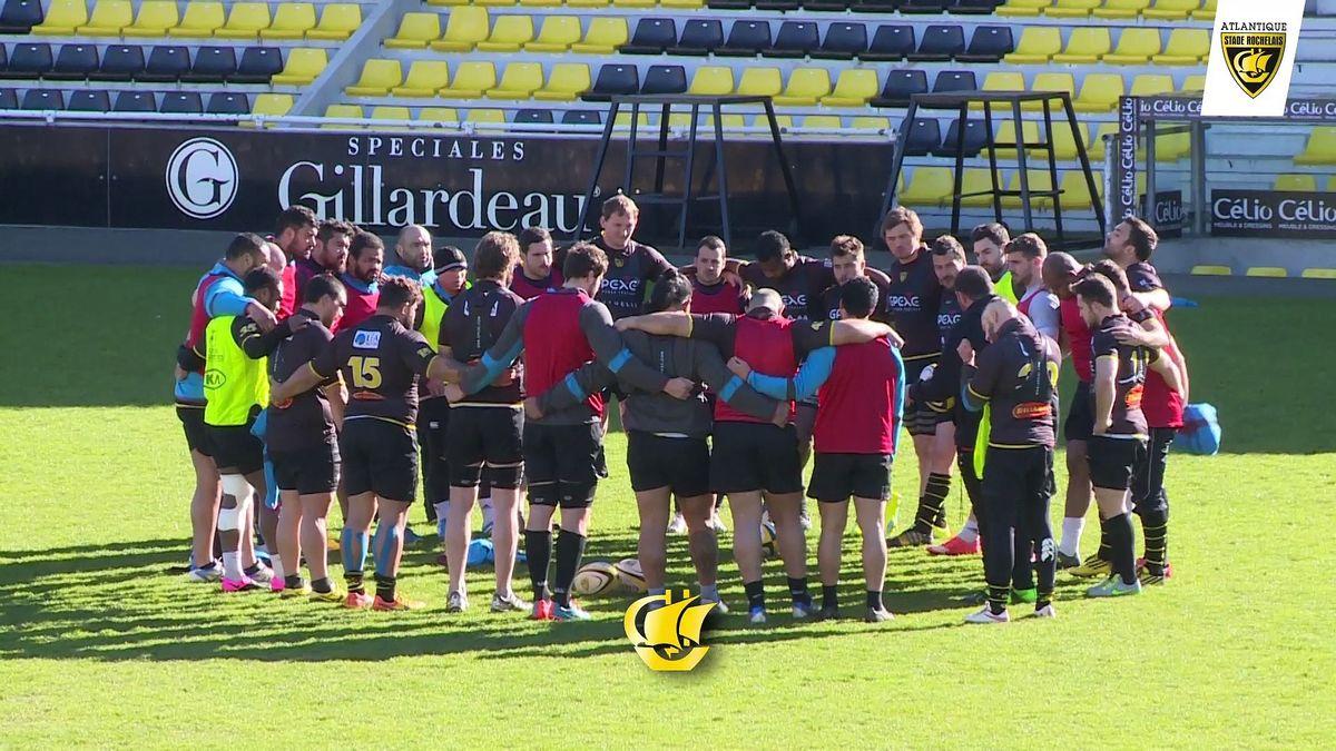 Avant match La Rochelle - Stade Français