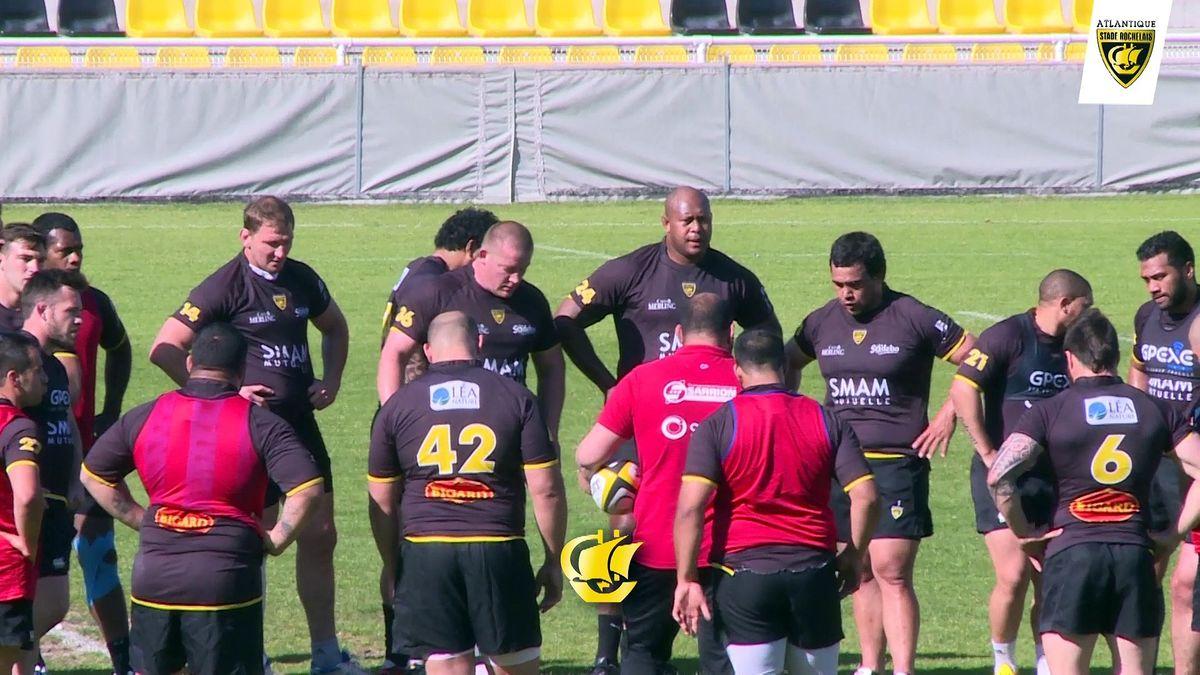 Avant match La Rochelle / Montpellier