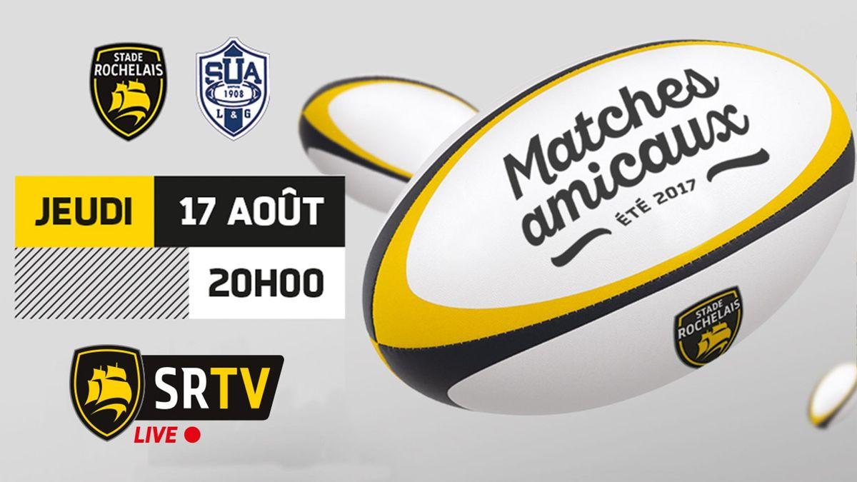 Match de préparation : Stade Rochelais/Agen en live