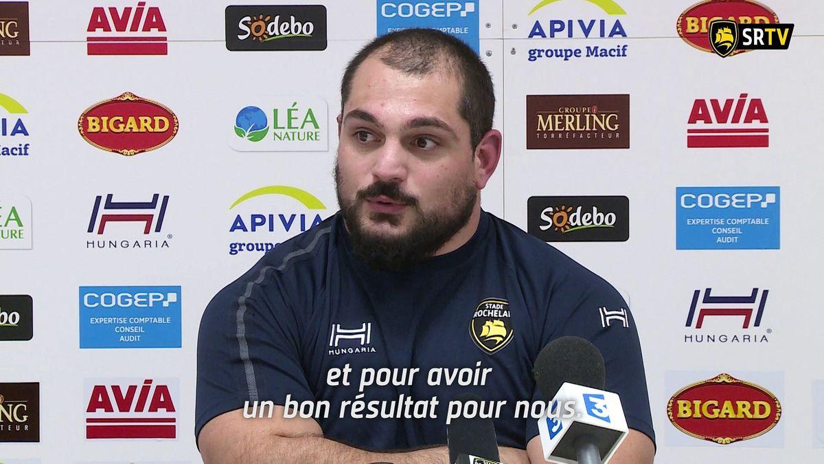Stade Rochelais / Brive : le Point Presse
