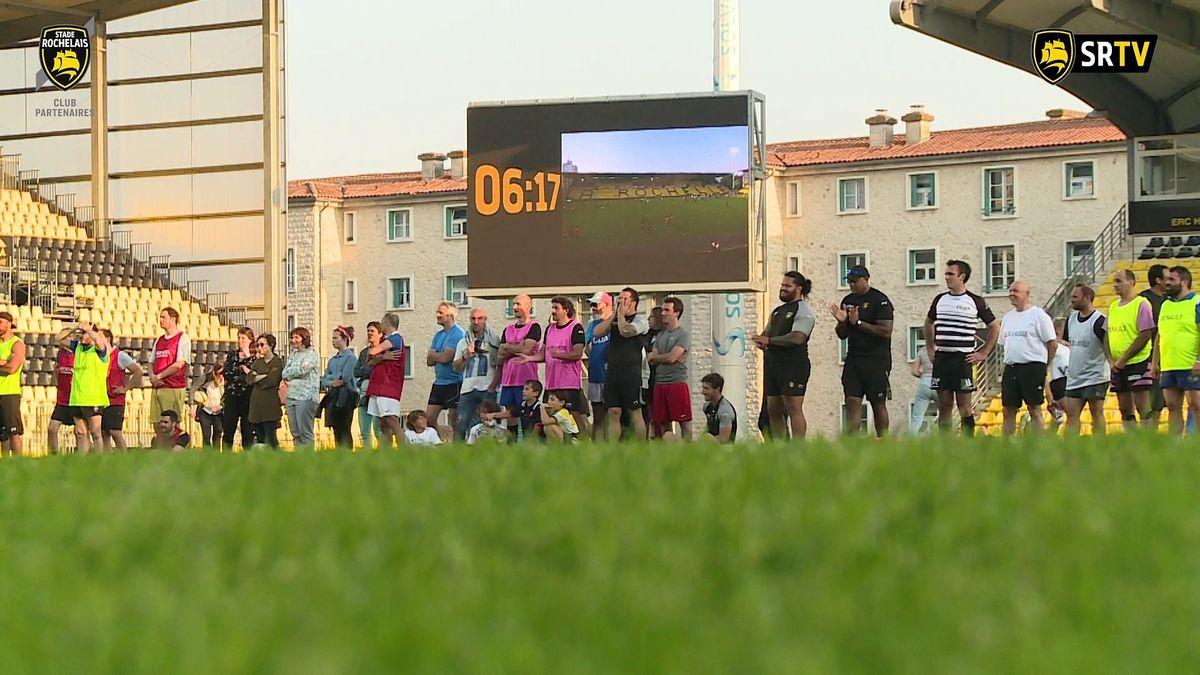Minute Jaune et Noire - Touch Rugby du Club Partenaires