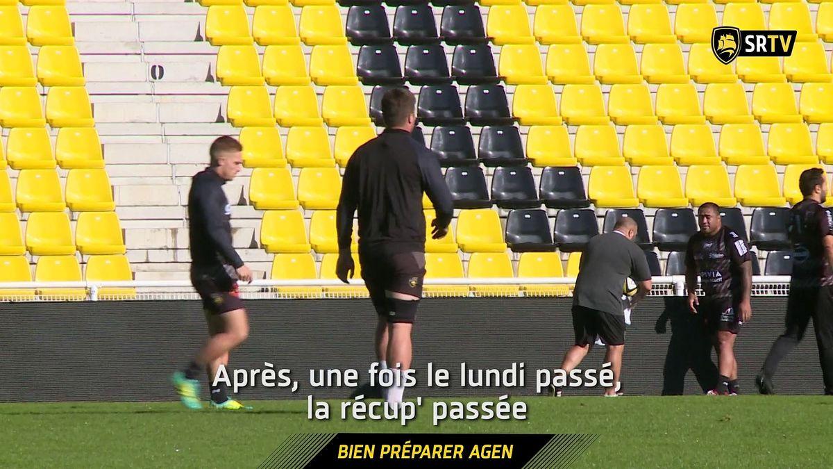 L'avant-match : Stade Rochelais / Agen