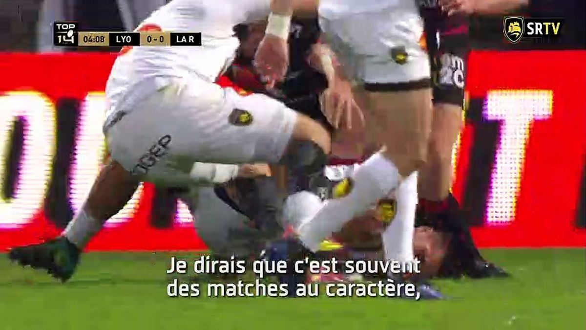 Lyon / Stade Rochelais : le Debrief