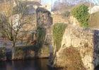 Le pont Cadoré fortifié du XIIIème s..jpg
