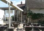 Terasse du restaurant la Creusille à Blois