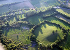 Vue aérienne du marais de Bonnefont Mayrinhac Lentour.jpg