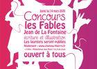 AFFICHE CONCOURS DES FABLES 2019 print vectorise