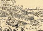 L'armée française est représentée ici poursuivie par les soldats anglais