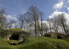 Les ruines du fort de la Malmaison