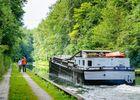 Promenade au bord du canal