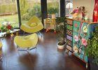 Chambres d'hôtes Miraflores, salon - Malestroit - Morbihan - Bretagne