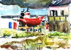 Stage de dessin et peinture - Guilvinec - Pays Bigouden