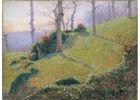Gustave LOISEAU (1865-1935) - Les Roches vertes