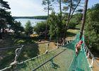 accrobranche au lac de Trémelin-Iffendic