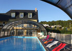Camping Bois et Marais à Touffreville - piscine