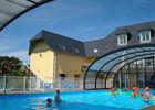 Camping Bois et Marais à Touffreville - jeux piscine