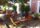 Restaurant Table de Manon Ranville Terrasse ensoleillee