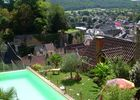 maison pour  4 pers avec pisicine privée surpomblant la ville de montignac lascaux (8)