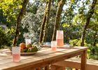 villa nakalta - piscine privée - location de charme- cazoules-Terrasse-ombrage-2