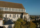 Nef de l'église Saint Aignan vue extérieure  © Office de Tourisme de Chartres - Ville de Chartres - G. Osorio