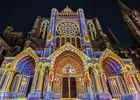 Cathédrale de Chartres illuminée