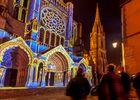 Portail Nord de la Cathédrale de Chartres - Scénographie Spectaculaire les Allumeurs d'image