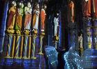 Veronica Antonelli chante lors de Chartres en lumières