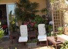 La terrasse/solarium avec piscine/spa (4X3)