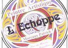 COM - Roquebrun - Artiste Peintre - L'echoppe - logo