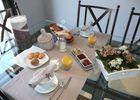 Un exemple de mise de table petit-déjeuner