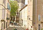 """vue sur la cathédrale St Nazaire  """"Au Saint Sauveur """""""